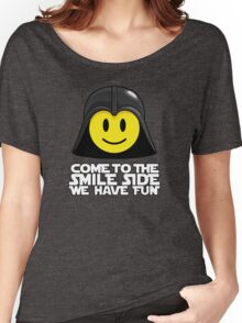 Darth Smiley - Come to the Smile Side Women's Relaxed Fit T-Shirt