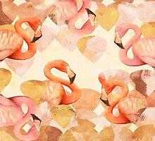 Flamingle by AmitArt