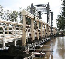 Barham Bridge (September) by Leanne Davis