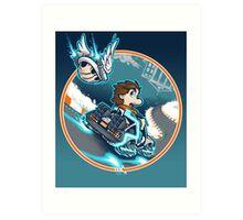 Marty Kart 88 Art Print