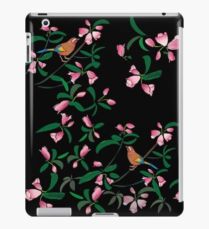 Flowers and birds iPad Case/Skin