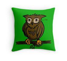Cuddle an Owl! Throw Pillow