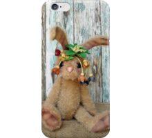 Handmade bears from Teddy Bear Orphans - Rhianna Rabbit iPhone Case/Skin