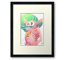 First friend Framed Print