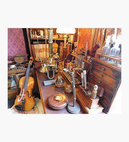 Sherlock Holmes' Study Photographic Print