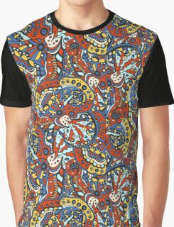 Native Abstract Pattern Graphic T-Shirt