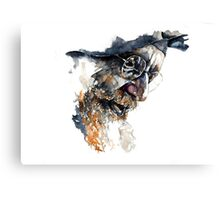 FACE#4 Canvas Print