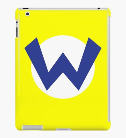Original Wario Emblem iPad Case/Skin