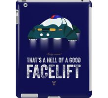 Cinema Obscura Series - Back to the future - Police iPad Case/Skin