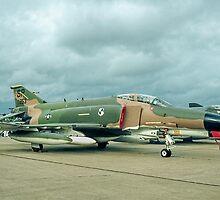 McDonnell F-4G Phantom II 69-0253/SP Wild Weasel V by Colin Smedley