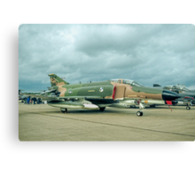 McDonnell F-4G Phantom II 69-0253/SP Wild Weasel V Canvas Print