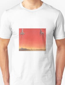 The Elephants by Dali  Unisex T-Shirt