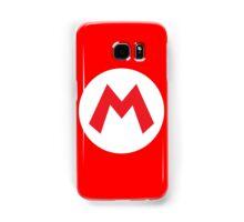 Original Mario Emblem Samsung Galaxy Case/Skin