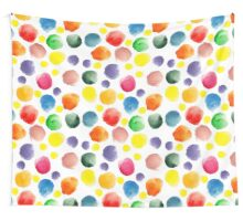 watercolor pattern.  hand painted watercolor circles _2 Wall Tapestry