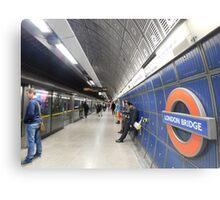 London Bridge's Underground Metal Print