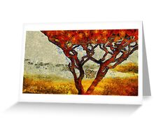 Eden tree Greeting Card