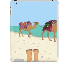 Camels on the Beach iPad Case/Skin