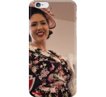 Gemma Sheree Takes 1st Place in Fashions on the Field iPhone Case/Skin