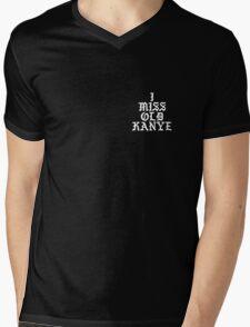 I MISS OLD KANYE - White Colorway Mens V-Neck T-Shirt