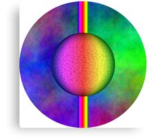 colorful sphere Canvas Print