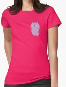 Catbug Womens Fitted T-Shirt