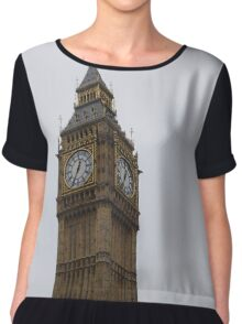 Big Ben in London Chiffon Top