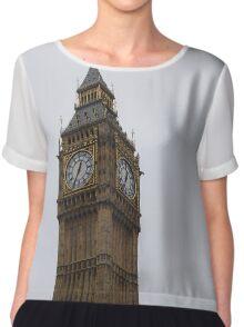 Big Ben in London Chiffon Top