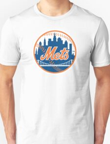 New York Mets - Royal Blue [HQ DESIGNS] Unisex T-Shirt