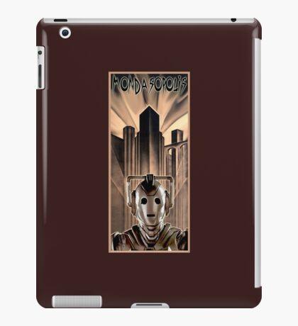 Mondasopolis - Dr Who's Cybermen, Metropolis style iPad Case/Skin