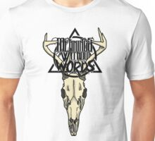 Meanings Without Words // Deer Skull Unisex T-Shirt