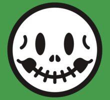Smiley Skull One Piece - Short Sleeve