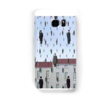 Golconda by Magritte  Samsung Galaxy Case/Skin
