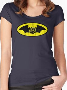 Bat-cepticon Women's Fitted Scoop T-Shirt