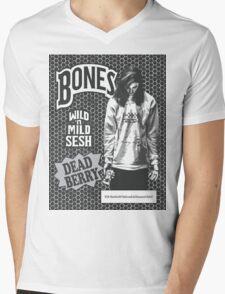 Bones Backwoods Dead Berry Black (TeamSESH Sesh) Mens V-Neck T-Shirt