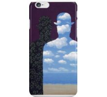 High Society by Magritte  iPhone Case/Skin