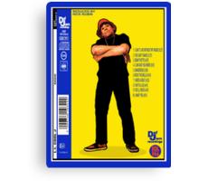 """LL COOL J: RADIO (BACK COVER ARTWORK)"" Canvas Print"