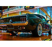 1967 Green Mustang Photographic Print