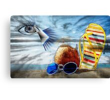 Vacation Problems Canvas Print