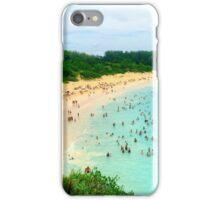 Horseshoe Bay Beach, Bermuda iPhone Case/Skin