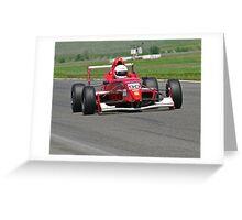 Formula Straightaway II Greeting Card