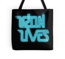 TRON LIVES Uprising version Tote Bag