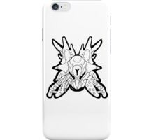 Honor The Legends - Fallen Captain [White on White] iPhone Case/Skin