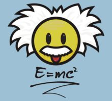 Einstein Smiley + E=mc² One Piece - Short Sleeve