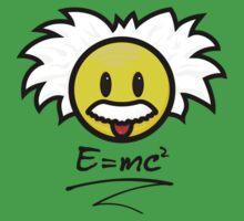 Einstein Smiley + E=mc² Baby Tee