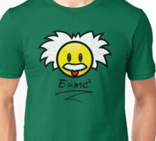 Einstein Smiley + E=mc² Unisex T-Shirt