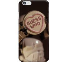 Guess Who??? iPhone Case/Skin
