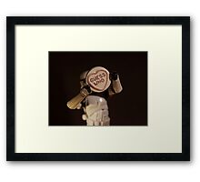 Guess Who??? Framed Print