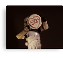 Guess Who??? Canvas Print