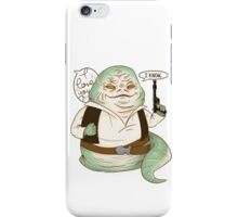 Jabba the Solo iPhone Case/Skin