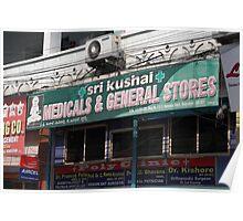 Shopfront Hyderabad Poster